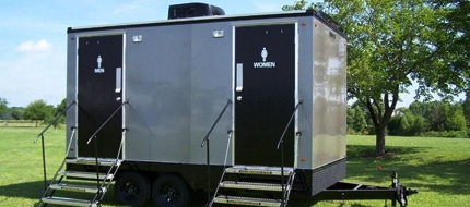 vip portable restroom trailers in New Haven CT