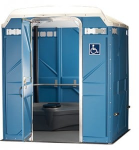 wheelchair accessible portable restroom new haven